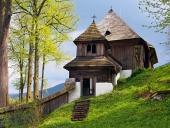 Vzácný kostel v obci Leštiny na Slovensku