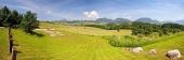 Panorama od obce Bobrovník na Liptově