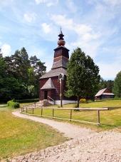 Dřevěný kostel ve Staré Ľubovni, Slovensko