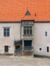 Vzácný arkýř v Bardějově, Slovensko