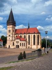 Bazilika ve městě Bardejov, UNESCO památka, Slovensko