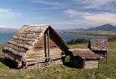 Starodávné dřevěné domy