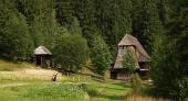Dřevěný kostelík v Zuberci