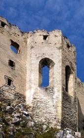 Kaple na hradě Beckov