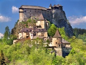 Jižní strana Oravského hradu