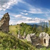 Ruiny Sklabinského hradu