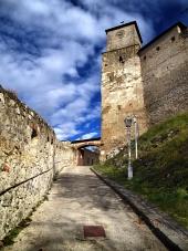 Vstup do Trenčanského hradu