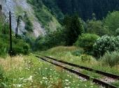 Stará železnice u obce Podbieľ