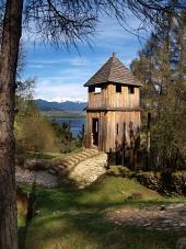 Starodávné keltské opevnění na kopci Havránok