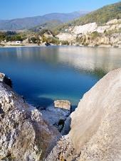 Šútovské jezero při Kralovan na Slovensku
