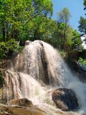Vodopád v Lúčkach na Slovensku
