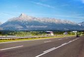 Kriváň a dálnice