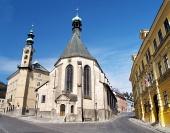 Kostel v Banské Štiavnici