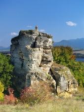 Kamenný kříž, památka v blízkosti obce Bešeňová, Slovensko