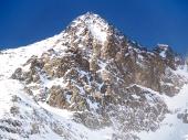 Zimní pohled na Lomnický štít