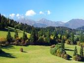 Malá Fatra a lesy nad obcí Jasenová