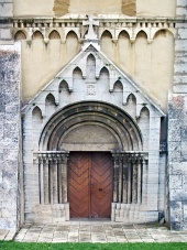 Brána katedrály ve Spišské Kapitule