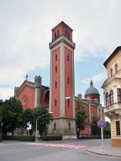 Nový evangelický kostel v Kežmarku