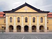 Historická Reduta (nyní knihovna) v Kežmarku