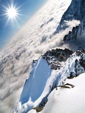 Velmi vysoko nad oblaky