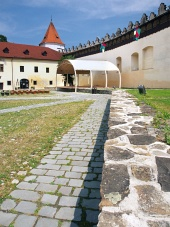 Nádvoří hradu Kežmarok, Slovensko