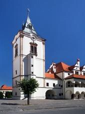 Věž staré radnice v Levoči