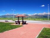 Odpočívadlo a Vysoké Tatry v létě