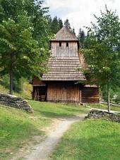 Vzácný dřevěný kostel v Zuberci