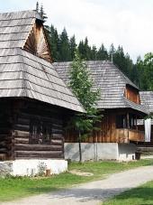 Lidové domy v muzeu Zuberec