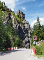Cesta s mostem ve Vrátné dolině, Slovensko