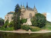 Jižní strana Bojnického zámku, Slovensko