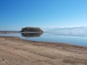 Slanický ostrov brzy ráno