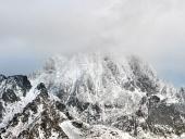 Nebezpečná bouře nad Vysokými Tatrami