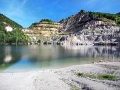 Šútovské jezero na podzim