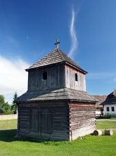 Dřevěná zvonice v Pribylině, Slovensko