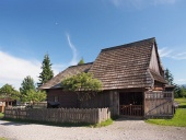 Historický dřevěný dům v Pribylině