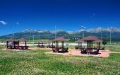 Přístřešky a parkovací místa ve Vysokých Tatrách