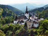Kostel Proměnění Páně, Špania Dolina