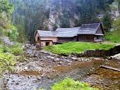 Vodní pila v Kvačianském údolí