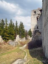 Zřícenina hradu Lietava, Slovensko