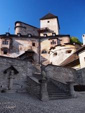 Nádvoří Oravského hradu, Slovensko