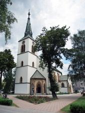 Římskokatolický kostel v Dolním Kubíně