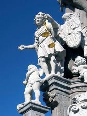Socha svatého Michala v Banské Štiavnici