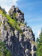 Unikátní skály ve Vrátné dolině, Slovensko