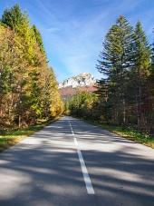 Cesta k Velkému Rozsutci na Slovensku
