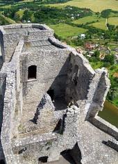 Věž hradu Strečno
