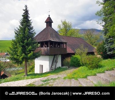 Evangelický kostel v obci Istebné na Slovensku