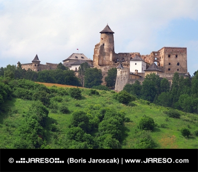 Kopec s Ľubovnianským hradem