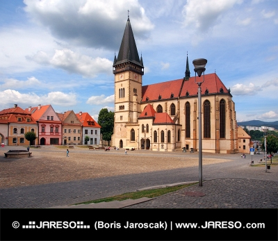 Bazilika Svatého Egídia, Bardejov, Slovensko