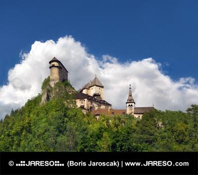 Slavný Oravský hrad